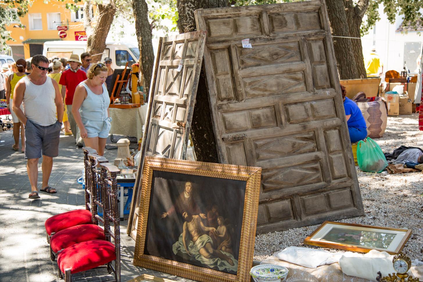 Vlooienmarkt van Xaló